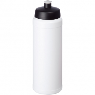 Single-walled sport bottle. Features a spill-proof lid with push-pull spout. Volume capacity is 750 ml. Mix and match colours to create your perfect bottle. Contact us for additional colour options. Made in the UK.
