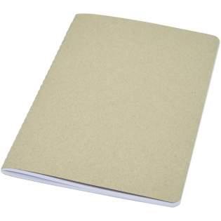 Carnet léger et flexible pour la prise de notes quotidienne. La couverture est fabriquée en carton recyclé. Comprend une couture visible le long de la reliure et 80feuilles de papier blanc ligné 70 g/m² 100% FSC. Fabriqué en Italie.