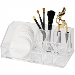 Organizer to store any daily health or beauty products. Handy for in the bathroom or on a make-up table.