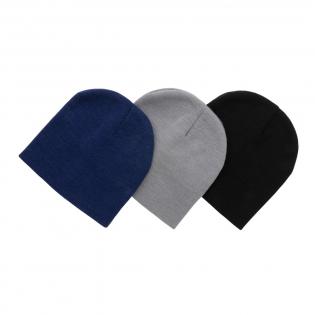 Deze klassieke Impact AWARE ™ beanie is een perfecte lichtgewicht beanie die je het hele jaar door dagelijks kunt dragen. Met baanbrekend gerecycled Polylana. Polylana-vezels zijn een innovatieve mix van gerecycled en nieuw materiaal en verbruiken minder energie en water om te produceren dan standaard garen. Met dezelfde eigenschappen die vergelijkbaar zijn met een mengsel van acryl en polyester. De beanie is tevens ook gemaakt met AWARE ™ tracertechnologie. Met AWARE ™ zijn het gebruik van echte gerecyclede stoffen en claims over watervermindering gegarandeerd. Bespaar water en gebruik echte gerecyclede stoffen. Als je voor dit item kiest, bespaar je 5 liter water. Met de focus op water wordt 2% van de opbrengst van elk verkocht Impact-product gedoneerd aan Water.org. Waterbesparing is gebaseerd op cijfers in vergelijking met conventionele vezels. Deze berekende indicatie is gebaseerd op betrouwbare LCA-gegevens zoals gepubliceerd door Textile Exchange in hun Material Snapshots 2016.
