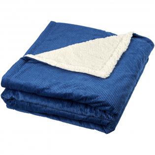 Superweiche und kuschelige Sherpa-Decke mit Kordfleece. Wird mit Geschenkband und einer Markenkarte von Field & Co präsentiert. 200 g/m² Kordfleece und 190 g/m² Sherpa-Fleece.