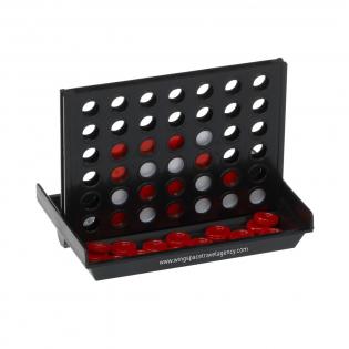 Het originele strategiespel in handige reisuitvoering. Incl. spelregels. Per stuk in doos.