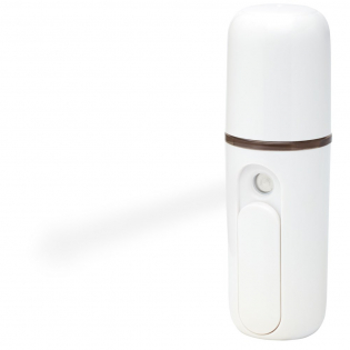 Automatic alcohol sprayer for sanitizing hands (liquid not included). Powered by a rechargeable lithium battery and activated by a slider button. The sprayer is small and portable, making it convenient to carry around in the pocket. The capacity of the container is 16 ml. Delivered in gift box with Micro USB charging cable. NOTE: This product is not delivered with disinfectant or alcohol.