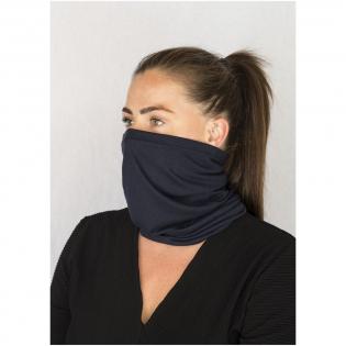 Hoogwaardige, multifunctionele scarf, gemaakt van een zacht en comfortabel 100% gecertificeerd gerecycled polyester. GRS-certificering zorgt voor een 100% gecertificeerde toeleveringsketen. Deze scarf is een aanpasbaar multifunctioneel item: gelaatsbekleding, sjaal, kraag, nekwarmer, sjaal, capuchon, muts, bandana. Gebruik het om uw gezicht te maskeren in het openbaar of als een multifunctionele scarf voor buitenactiviteiten. Het was- en slijtagemateriaal zorgt ervoor dat het er nieuw uitziet, zelfs na herhaaldelijke wasbeurten. Met meerdere manieren om het te dragen, kan het het meest bruikbare accessoire in uw garderobe zijn.