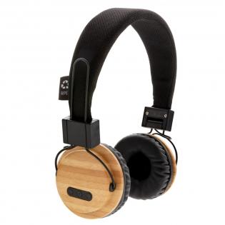 Bei diesem kabellosem Kopfhörer sind die Muscheln aus Bambus und das Kopfband aus Polyester gefertigt. Mit BT 5.0 haben Sie eine stabile und klare Verbindung auf bis zu 10m und mit der 200mAh Batterie genießen Sie Ihre Musik für bis zu 4h, wieder aufgeladen ist sie in 2h. Inkl. Mikrofon um auch Telefonate führen zu können.