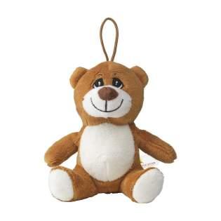 Pluche knuffelbeer uit de Animal Friend Serie. Superzacht en met geborduurde snoet. Met ophanglus.
