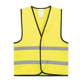 Diese Sicherheitsweste schützt Ihr Kind auf dem Weg in den Kindergarten und sorgt für eine gute Sichtbarkeit, egal ob mit dem Fahrrad oder zu Fuß. Geeignet für Kinder von 3 bis 6 Jahren. Aus gewebten Polyester.