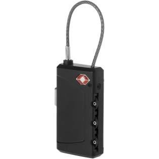 Personalisieren Sie Ihre Gepäckstücke, indem Sie sie mit diesem 2 in 1 Gepäckschloss sichern. TSA konformes, 3-stelliges Schloss mit integriertem Kofferanhänger zur persönlichen Identifizierung Ihres Gepäckstückes.