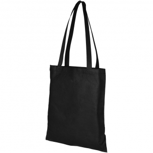 Slim design tote with open main compartment. Drop down height handles 29 cm.