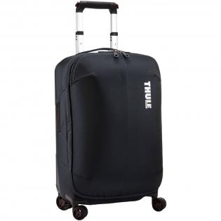 Een gestroomlijnde en duurzame reiskoffer met een compressiepaneel om de bagageruimte te maximaliseren en kreukvorming te minimaliseren. Voldoet aan de handbagagevereisten van de meeste luchtvaartmaatschappijen.