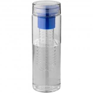 Ce bidon dispose d'un infuseur qui vous permet de faire des infusions de fruits. Le couvercle vous permet de boire sur 360°. Fait à partir de matériau Eastman Tritan, résistant aux chocs, tâches, et odeurs. Capacité 740 ml.