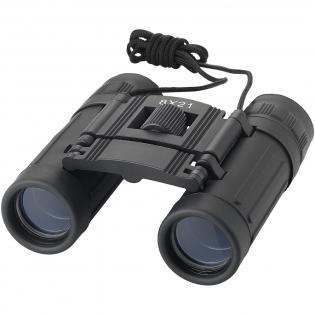 Kompaktes, leichtes Fernglas mit 8 Facher Vergrößerung. 126 m Sichtfeld bei 1000 m. Mit weichem, bequemem Augenstück und schwarzem Nylonbeutel.