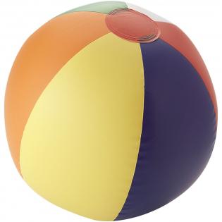 Opblaasbare strandbal. Voldoet aan de EN71-norm.