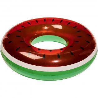 Großer aufblasbarer Schwimmring von Watermelon, der für Spaß auf dem Wasser sorgt.