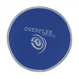 Frisbee pliable (Ø 25 cm) en nylon, dans une housse.
