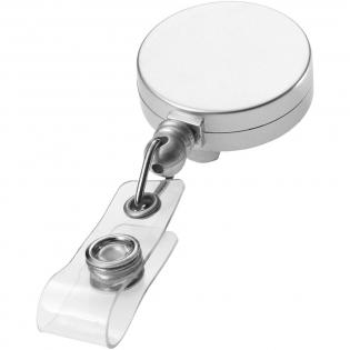 Badge of sleutels altijd bij de hand met deze rollerclip.