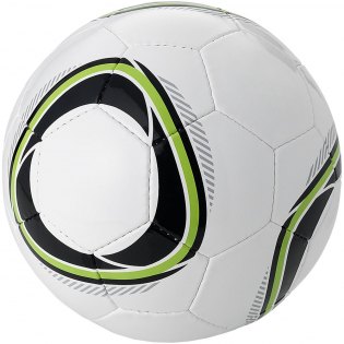 Double layer 32-panel football with fresh lime green colour detail. Size 4.