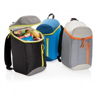 This functional cooler backpack is making sure that you no longer have to choose between a backpack and a cooler bag. Now you have the 2 in 1! Keep your food and drinks cool while going out and about.  The cooler backpack holds 10 liter and will fit all of you favourite food and drinks.