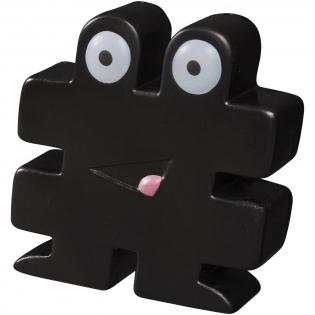 Hash tag stress reliever kan ook gebruikt worden om een koord bij elkaar te houden. Bij anti-stress artikelen kunnen kleine variaties voorkomen in dichtheid, kleur, afmetingen en gewicht die effect kunnen hebben op precisie en uniformiteit van de bedrukking, die ook kan breken. Geen half-tinten. PU foam.