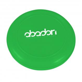 Frisbee en matière synthétique.