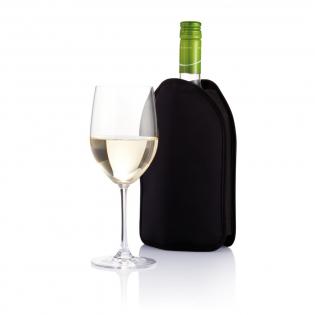 Modische Weinkühler Manschette, um Ihrem Wein die richtige Temperatur zu verleihen.