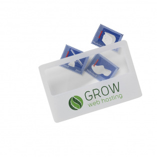 Nützliches Vergrößerungsglas im Kreditkarten-Format. Vergrößert bis zu 3-mal.