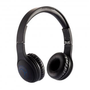 Bequemer wireless Kopfhörer aus Kunststoff mit Kautschuk Finish, konfektioniert im EVA Etui. Durch die Möglichkeit des Zusammenfaltens des Kopfhörers wird ein einfaches Transportieren im Rucksack oder Koffer gewährleistet. Auch mit inkludiertem Kabel verwendbar.