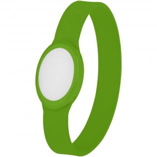 Silikon Armband mit mehrfarbigem blinkenden LED Licht. Ideal für Parties, Festivals und nächtliche Outdoor Events. Batterien sind im Lieferumfang enthalten.