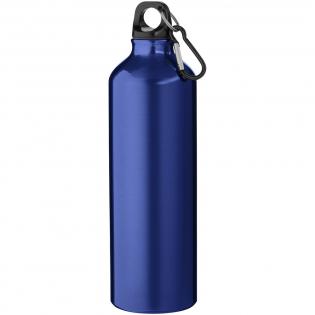 Enkelwandige fles met schroefdop. De karabijnhaak is niet bedoeld als klimgereedschap. Inhoud 770 ml. Screenround bedrukking meerdere kleuren : Geen sluitwerk. De minimale afstand tussen elementen dient 1 mm te zijn.