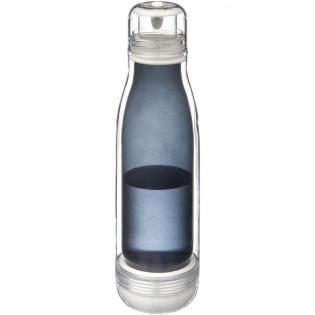 A la recherche d'une nouvelle expérience avec les bidons sport? Le bidon Spirit en Tritan avec intérieur en verre vous surprendra. Double paroi avec tritan durable transparent extérieur et paroi verre intérieure anti odeur. Le joint intérieur en silicone vous permettra d'utiliser le bidon en toute sécurité pendant la journée. Capacité 500 ml. Sous coffret cadeau Avenue.