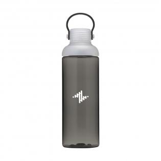 Belle bouteille d'eau étanche en Eastman Tritan™ transparent et de haute qualité. Sans BPA, respectueuse de l'environnement, durable et réutilisable. La bouteille dispose d'une grande ouverture et donc facile à nettoyer. Avec un capuchon à vis en PP et une petite ouverture verrouillable pour boire. Avec une boucle pratique de transport . Étanche. Capacité de 600 ml.