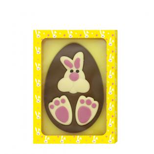 Chocolade Ei Konijn Print