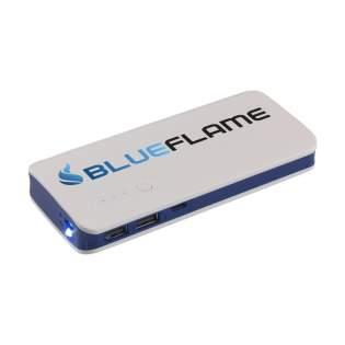 Zeer krachtige, 3-poorts, ABS powerbank met ingebouwde Li-ion batterij (10.000 mAh) voor het gelijktijdig opladen van maar liefst 3 apparaten. Input: DC5V/2.1A. Output USB 1, USB 2 & TYPE-C: DC5V/2.1A. Inclusief micro-USB oplaadkabel en gebruiksaanwijzing. Per stuk in doosje.