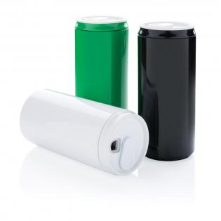 Deze can is gemaakt van 100% PLA (plantaardig materiaal) en daardoor composteerbaar. De mok is magnetron- en vaatwasbestendig. Verpakt in luxe geschenkverpakking. Inhoud: 330 ml.