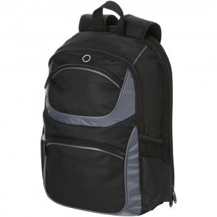 """Laptop-only section unfolds laying flat on x-ray belt expediting airport security. Holds most 15"""" laptops. Zippered main compartment. Zippered front pocket with deluxe organisation panel and key ring. Zippered top pocket with organisation and ear bud port."""