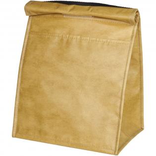 Ce sac isotherme à l'ancienne est doté d'un compartiment principal spacieux et isolé avec une fermeture repliable, pouvant contenir jusqu'à 12 canettes.Fait de Polypropylène non tissé laminé de 110 g.