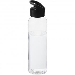 Single wall bottle with twist-on lid. Volume is 650ml.