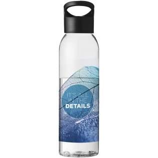 Erleben Sie die lebendigen Farben und die detailreiche Werbeanbringung des 360 Digitaldrucks. Vorbedruckt mit Logo: Auf die Details kommt es an. Einwandige Flasche, Eastman Tritan™, Fassungsvermögen 650 ml, Schraubdeckel.