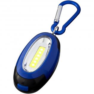 Karabijnhaak metultra licht COB-licht met aan / uit-schakelaar die de gestandaardiseerde en knipperende lichtmodi biedt. Inclusief magneet op de achterkant, Inclusief batterijen en bijpassende kleurkarabijn die niet bedoeld is om te klimmen.