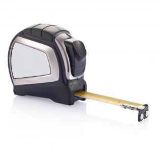 Ein hochwertiges 5m/19mm Maßband mit doppelseitiger Skala für horizontale und vertikale Messungen und Auto Stop Band, um die Arbeit zu erleichtern. Geschütztes Design®