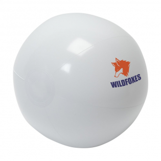Inflatable beach ball.