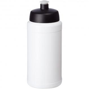 Single-walled sport bottle. Features a spill-proof lid with push-pull spout. Volume capacity is 500 ml. Mix and match colours to create your perfect bottle. Contact us for additional colour options. Made in the UK.