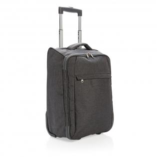 Dieser faltbare 600D Polyester Trolley mit 2 Rollen hat ein großes Hauptfach sowie eine Fronttasche mit Reißverschluss. Schnell und einfach lässt er sich zusammenlegen und findet so überall seinen Platz in Ihrem zu Hause.