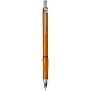 Porte-mines à bouton-poussoir pour écrire et dessiner de façon dynamique. Comprend un mécanisme en métal avec alimentation en mines rétractable. Manche triangulaire pour une sensation de confort. Pointe rétractable et chargée avec des mines 2B en haut polymère. Taille de la plume: 0,7mm.