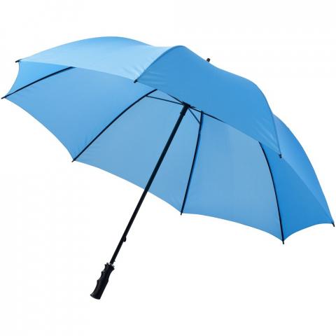 "30"" Golf umbrella with metal shaft and ribs. Plastic handle."